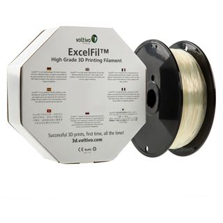 Voltivo ExcelFil 3D Druck Filament, ABS, 3mm - transparent