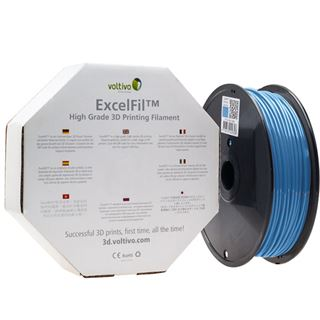 Voltivo ExcelFil 3D Druck Filament, ABS, 3mm - Sky Blue