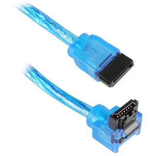 1.00m Akasa SATA 6Gb/s Anschlusskabel gewinkelt rechts SATA Stecker