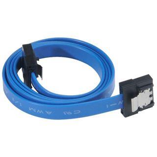 (€9,80*/1m) 0.50m Akasa SATA 6Gb/s Anschlusskabel SATA Stecker