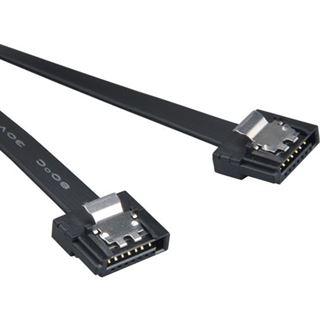(€13,80*/1m) 0.50m Akasa SATA 6Gb/s Anschlusskabel SATA Stecker