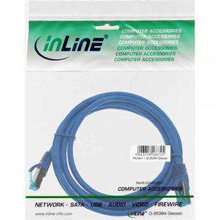 (€9,80*/1m) 0.50m InLine Cat. 6a Patchkabel S/FTP PiMF RJ45