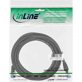 (€3,45*/1m) 2.00m InLine Cat. 6a Patchkabel S/FTP PiMF RJ45