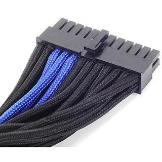 Silverstone ATX 24-Pin-Kabel, 300mm - schwarz/blau