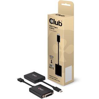 Club3D Adapter USB 3.1 Typ C > DVI-D aktiv St/Bu