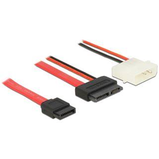(€13,80*/1m) 0.50m Delock SATA Anschlusskabel SATA Stecker +