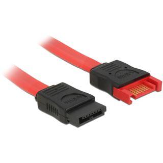 0.70m Delock SATA 6Gb/s Verlängerungskabel SATA Stecker auf SATA