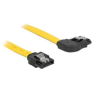 0.10m Delock SATA 6Gb/s Anschlusskabel gewinkelt rechts SATA Stecker