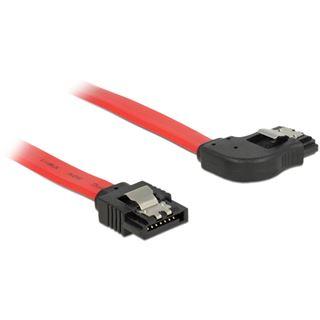 0.50m Delock SATA 6Gb/s Anschlusskabel gewinkelt rechts SATA Stecker