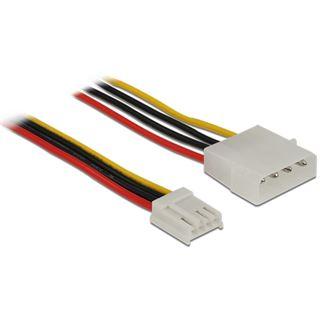(€8,17*/1m) 0.60m Delock Stromkabel Adapterkabel 4pol Stecker