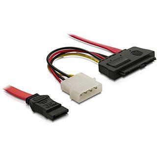 (€13,80*/1m) 0.50m Delock SAS Adapterkabel SATA Stecker auf