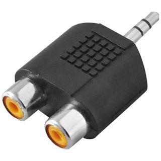 Logilink Audio Adapter LogiLink 1x Mini 3,5mm -> 2x Cinch St/Bu