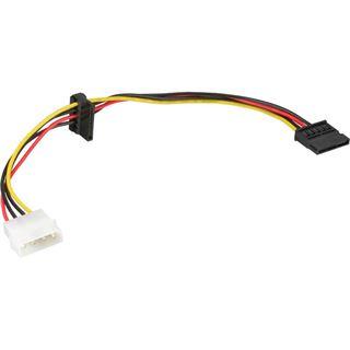 (€26,00*/1m) 0.15m InLine SATA Adapterkabel Molex-Stecker auf