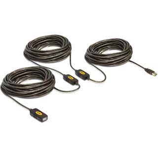 (€1,16*/1m) 30.00m Delock USB2.0 Verlängerungskabel aktiv
