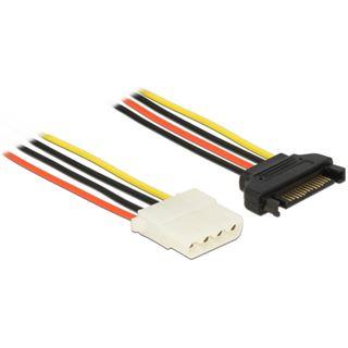 0.50m Delock Stromkabel Adapterkabel SATA Strom Stecker auf
