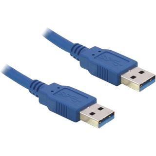 (€3,95*/1m) 2.00m Delock USB3.0 Anschlusskabel doppelt geschirmt