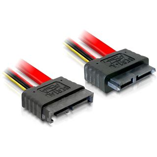 0.50m Delock SATA 6Gb/s Verlängerungskabel SATA Stecker auf SATA