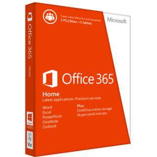 Microsoft Office 365 Home, 1 Jahr, PKC (deutsch) (PC/MAC)
