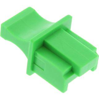 InLine Staubschutz für RJ45 Buchse Farbe: grün 10er Blister