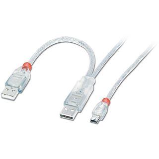 (€3,95*/1m) 2.00m Lindy USB2.0 Verlängerungskabel 2xUSB A
