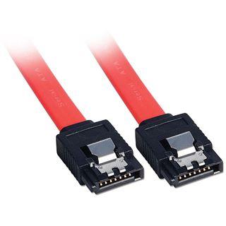 (€9,80*/1m) 0.50m Lindy SATA 3Gb/s Anschlusskabel SATA Stecker