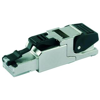 Telegärtner Stecker TP/RJ45 Feldkonfektionierbar CAT6A MFP8 T568B