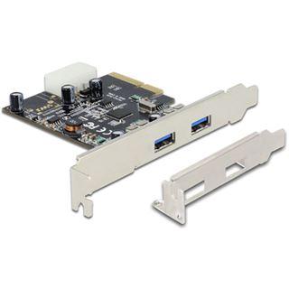 Delock PCIe USB 3.1 Gen 2 mit 2x Typ A Buchse