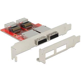 Delock Adapter 2 x Mini SAS SFF-8087