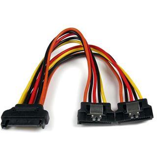 (€52,67*/1m) 0.15m Startech SATA Y-Stromadapterkabel SATA Strom