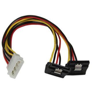 (€23,00*/1m) 0.30m Startech SATA Y-Stromadapterkabel gewinkelt