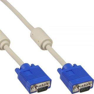 (€2,63*/1m) 3.00m InLine S-VGA Anschlusskabel doppelt geschirmt
