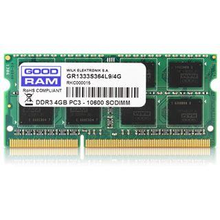 4GB GOODRAM GR1600S3V64L11S DDR3L-1600 SO-DIMM CL11 Single