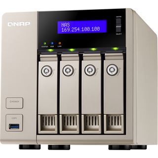 QNAP Turbo Station TVS-463-4G ohne Festplatten