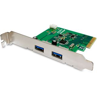 Fantec USB 3.1 PCIe Karte