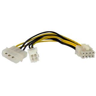 (€46,00*/1m) 0.15m Startech Stromkabel Adapterkabel Molex