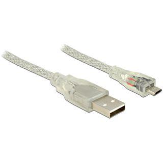 (€2,45*/1m) 2.00m Delock USB2.0 Anschlusskabel USB A Stecker auf