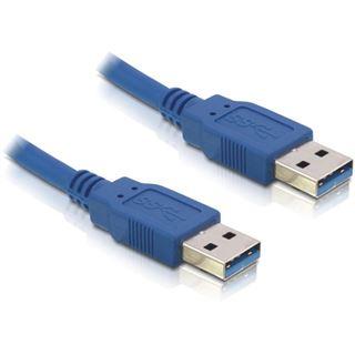 (€13,80*/1m) 0.50m Delock USB3.0 Anschlusskabel doppelt