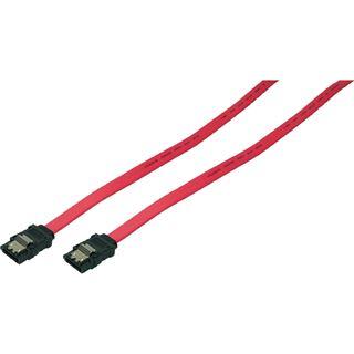 (€7,80*/1m) 0.50m LogiLink SAS 6Gb/s Anschlusskabel SATA Stecker