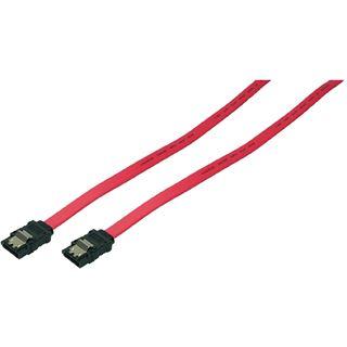 0.90m LogiLink SATA 3Gb/s Anschlusskabel SATA Stecker auf SATA