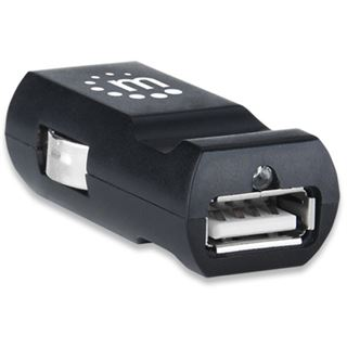 Manhattan KFZ-USB Ladegerät 5V 1-Port schwarz
