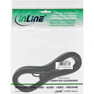 (€3,90*/1m) 1.00m InLine ISDN Anschlusskabel RJ12 Stecker auf