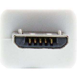(€0,98*/1m) 5.00m InLine USB2.0 Anschlusskabel USB A Stecker auf