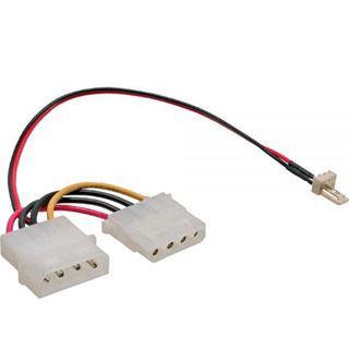 (€392,67*/1m) 0.15m InLine Lüfter Adapterkabel