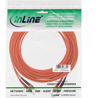 (€0,70*/1m) 20.00m InLine LWL Duplex Patchkabel 62,5/125
