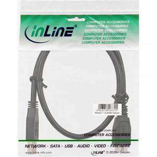 (€13,80*/1m) 0.50m InLine USB3.0 Anschlusskabel USB A Stecker