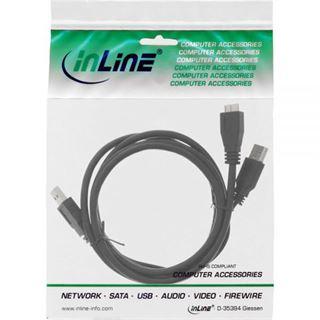 (€3,95*/1m) 2.00m InLine USB3.0 Anschlusskabel USB 3.0 USB A