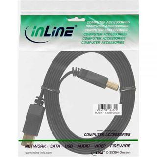 1.50m InLine USB3.0 Anschlusskabel USB 3.0 USB A Stecker auf USB B