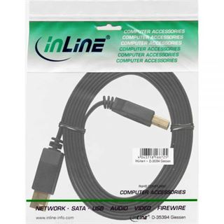 (€3,16*/1m) 2.50m InLine USB3.0 Anschlusskabel USB 3.0 USB A