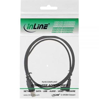 (€1,63*/1m) 3.00m InLine USB2.0 Anschlusskabel gewinkelt unten