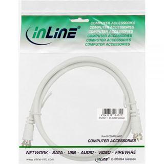 (€1,95*/1m) 2.00m InLine SAT Anschlusskabel F Stecker auf F